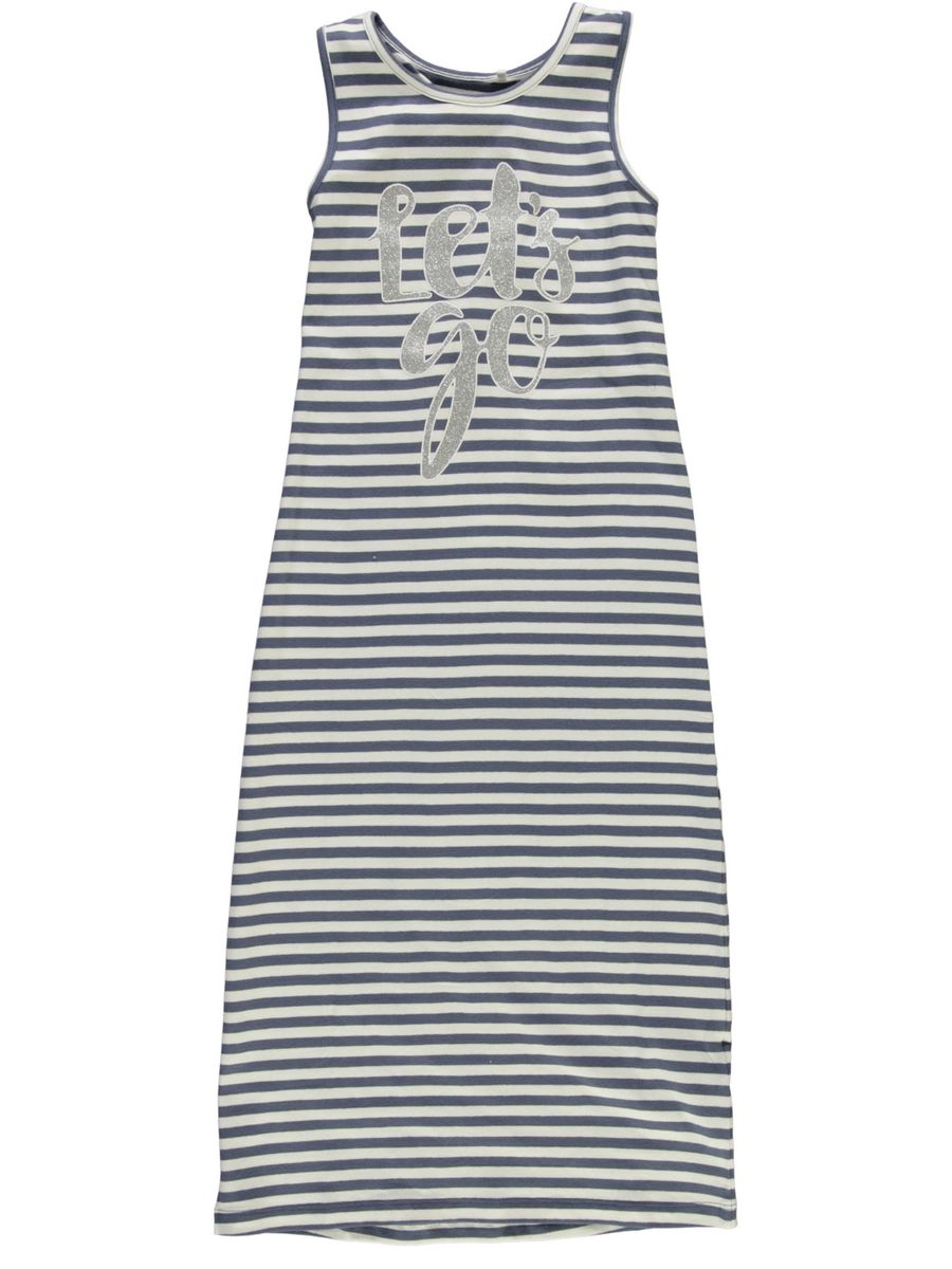 Name It Nkfpihla Maxi Dress Dusty Aqua Stripes -Maximekko  221e1ffafe44a