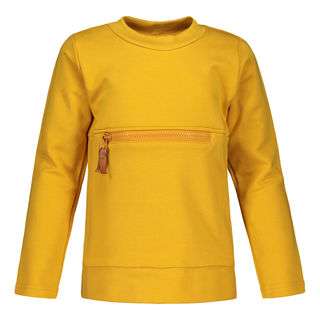 Metsola AW19 Zipper Shirt Ls Sweet Honey