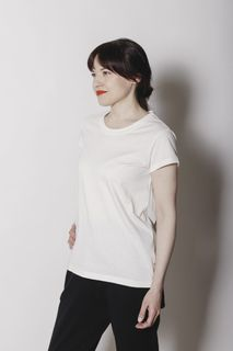Aarre Woman Renee T-Shirt White Refibra