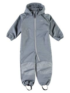 Name It Nmmalfa Softshell Suit Melange Flint Stone