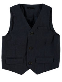 Name It Nitholger Waistcoat Dress Blues