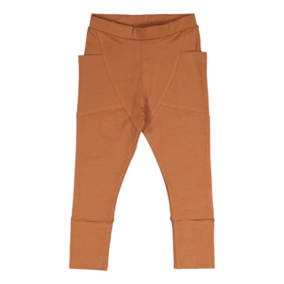Gugguu Unisex Pants Trikoohousut, Brown Sugar