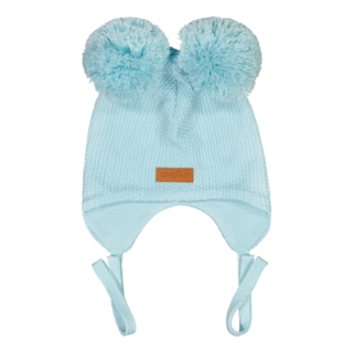 Gugguu SS20 Double Tuft Baby Beanie Blue Bell