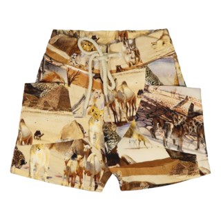 Gugguu SS20 Print Unisex Shorts Safari Ride