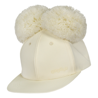 Gugguu SS20 Double Tuft Cap White Candy