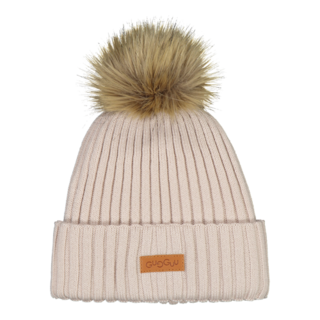 Gugguu AW19 Furry Beanie Light Fog