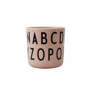 Design Letters Eat & Learn ABC Cup Melamine Nude