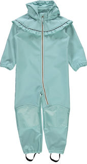 Name It Nmfalfa Softshell Suit Frill Aqua Haze Haalari