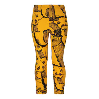 Metsola AW19 Panda Art Leggins Sweet Honey