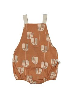 Mainio SS20 Tulip romper Toasted Nut