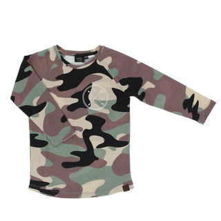 Kiddow AW19 LS Shirt Camo