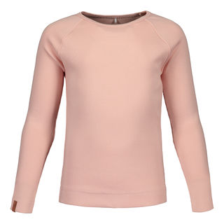 Metsola AW19 Basic T-shirt Ls Rib Rose Smoke