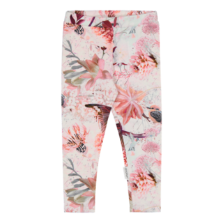 Gugguu SS20 Print Leggings Pink Hummingbirds
