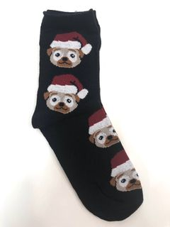 Name It Nkmricks 3P Xmas Sock Black