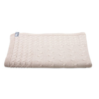 Baby's Only Cot Blanket Cable - Beige