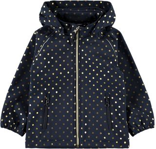 Name It Nmfalfa Jacket Foil Dot Dark Sapphire