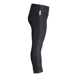 METSOLA AW18 Lady Leggins Block Dark Gray Melange/Black
