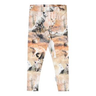 Gugguu Print Leggings, Dancing Foxes