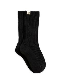 Mini Rodini AW19 Wool Sock Black