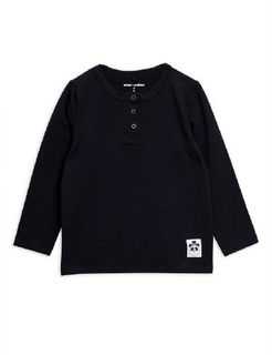 Mini Rodini AW19 Basic Grandpa Black