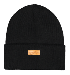 Gugguu Aw18 Basic Knitted Beanie Black