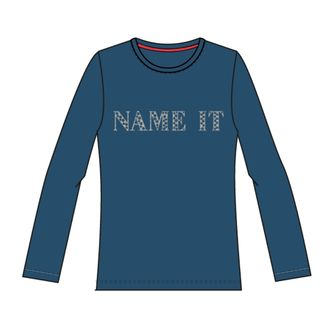 Name It Nitdiary Ls Top Ensign Blue