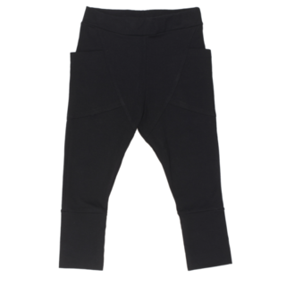Gugguu AW20 Unisex Pants Black Housut