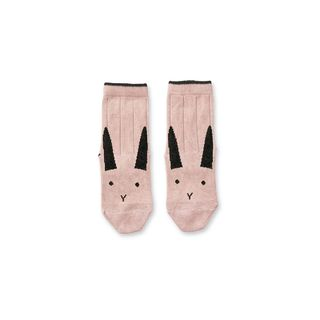 Liewood Silas Cotton Socks 2 Pack Rabbit Rose