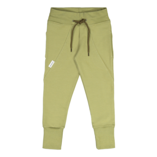 Gugguu Slim Baggy Collegehousut, Sage Green