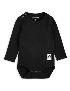Mini Rodini SS18 Basic LS Body Black