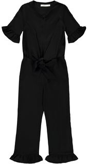 Name It Nkfsadora 1/2 Sl Jumpsuit Black