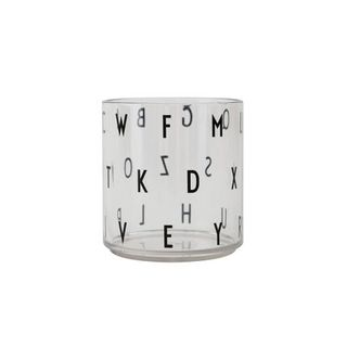 Design Letters Kids Personal Drinking Glass ABC Special Edition