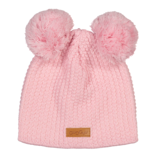 Gugguu AW18 Double Tuft Hat Crystal Rose