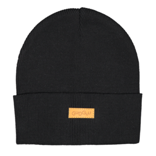 Gugguu SS19 Basic Knitted Beanie Black