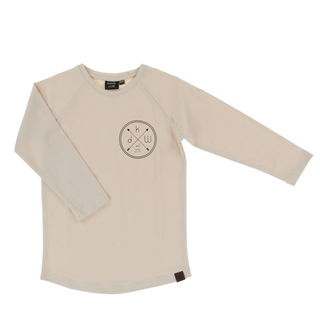 Kiddow AW19 LS Shirt Sand