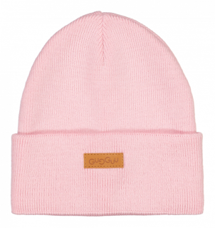 Gugguu Aw18 Basic Knitted Beanie Crystal Rose