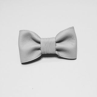 For Minis And Mommies The Bow Light Grey
