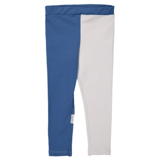 Gugguu SS18 Leggings Deep Blue/White Grey