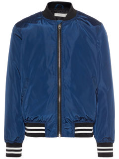 Name It Nkmarten Bomber Jacket Dress Blues - Takki