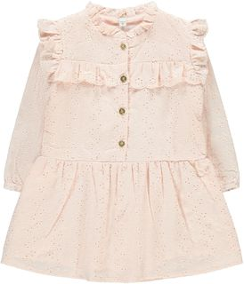Lil' Atelier Grace LS Dress Pale Mauve