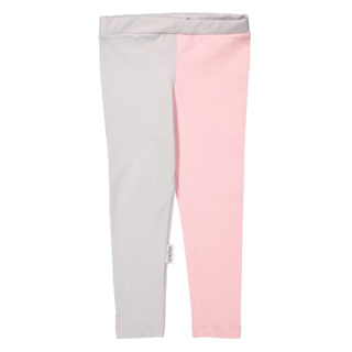 Gugguu SS18 Leggings White Grey/Soft Rose