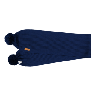 Gugguu AW18 Scarf With Tufts Night Blue OS
