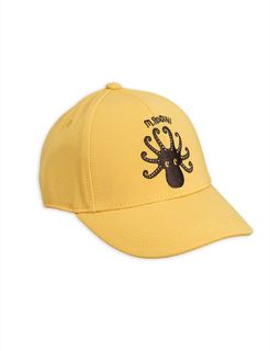 Mini Rodini AW20 Octopus Cap Yellow