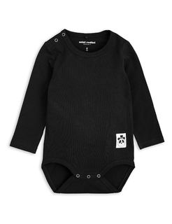 Mini Rodini SS19 Basic LS Body Black