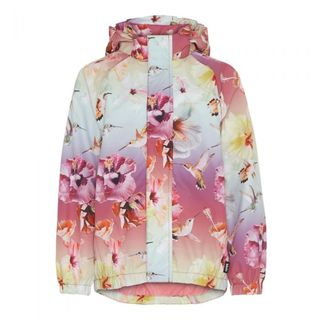 Molo Kids SS20 Waiton Jacket Hibiscus Rainbow