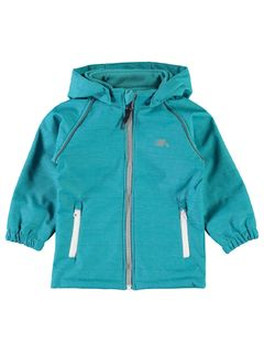 Name It Nmmalfa Softshell Jkt Melange Lake Blue