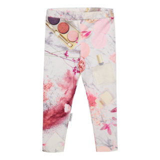 Gugguu SS19 Print Leggins Cream Powder
