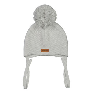 Metsola SS19 Knitted Baby Beanie Silver Mist