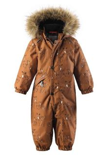 Reima AW19 Reimatec Winter Overall Lappi Cinnamon Brown
