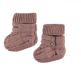 Name It Nbfwrilla Wool Knit Slippers Woodrose